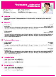 resume building template resume exles templates 10 free resume builder templates free