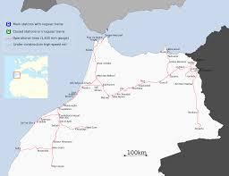 Morocco On World Map by Kenitra U2013tangier High Speed Rail Line Wikipedia