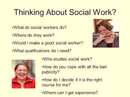 Where Can I Make A Thinking About Social Work What Do Social Workers Do Where Do