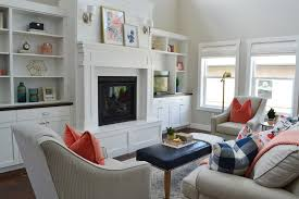 Client Project Reveal Pretty And Polished Family Room Sita - Pretty family rooms