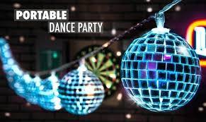 disco light bulb home depot disco ball light portable dance party mirror mirror on the ball