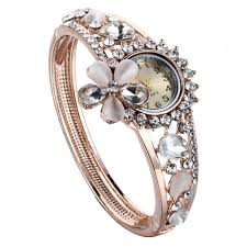 bracelet design watches images New arrival trendy 24k gold bracelets ladies watch with bracelet jpg