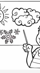 weather coloring page timykids