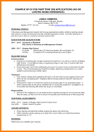 resume for part time job for student in australia part time jobs resume cv for students job no experience listings