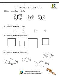 pattern math worksheets preschool kids kindergarten math worksheets comparing numbers and size doll