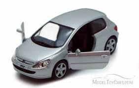 peugeot cars models peugeot 307 xsi silver kinsmart 5079d 1 32 scale diecast model