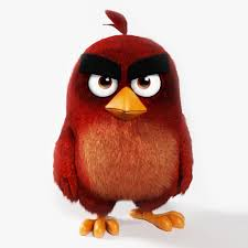angry bird red 3d asset cgtrader