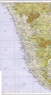 Kerala India Map by