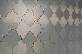 peel and stick wallpaper tiles gl stone tile mosaic tile peel stick metal series gold damask
