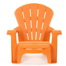Outdoor Furniture Plastic Chairs by Garden Chair Orange At Little Tikes