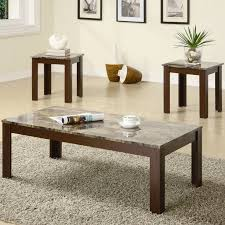 Coffee Table Set Charlton Home Colmer 3 Piece Coffee Table Set In Brown U0026 Reviews
