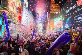 happy new year new york rings in 2017