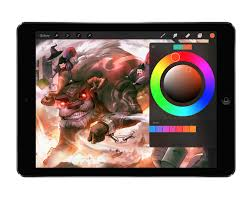 procreate 2 1 u0027fire u0027 offers new colour tools and support for paper