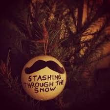 archie mcphee mustache ornament ornament and ornament