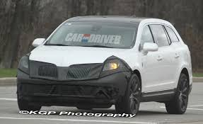 lincoln 2017 crossover spied 2013 lincoln mkt gets refined version of waterfall grille
