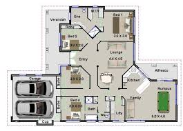 4 bed house plans house plans 4 bedroom rumpus homes zone