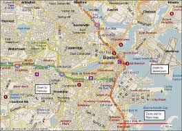 boston city map map of boston ma map travel holidaymapq com