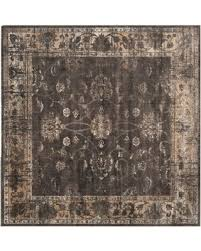6 Square Area Rug New Savings On Safavieh Vintage 6 Square Area Rug In Light