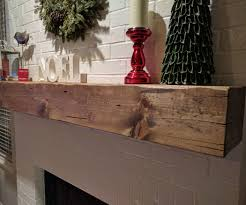 wood beam fireplace mantel 6 steps with pictures