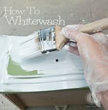 How To Paint A Bookcase White by How To Whitewash Wood Furniture Salvaged Inspirations