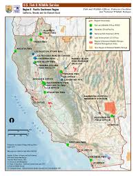Map Of Riverside Ca Organization And Offices Pacific Southwest Region
