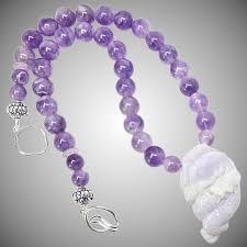 natural amethyst necklace images Natural lavender jade frog amethyst necklace carol barrett jpg