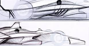 concept sketches reveal how indycar could look in 2018