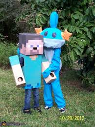 Craft Halloween Costumes Steve Minecraft Costume Minecraft Halloween Costume