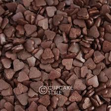 heart chocolate chocolate heart sprinkles