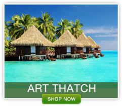 Tiki Hut Material Artificial Thatch Synthetic Thatch Roofing Foreverbamboo Com