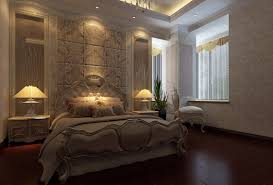 modern classic bedroom interior