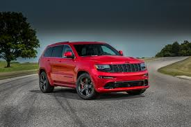 dark red jeep 2015 jeep grand cherokee srt adds 5hp red vapor special edition
