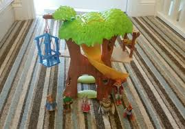 rabbit treehouse used rabbit tree house playset in stanley for 15 00 shpock