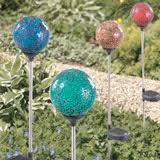 solar globe lights garden sunny solar light gardensolar globe light floating solar globe