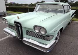 how many different model cars did edsel manufacture