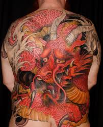 tattoo back japanese guilty red dragon full back japanese tattoo best tattoo ideas gallery