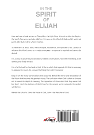 spirit of halloween promo code amazon com in the spirit of elijah 9781625098085 trevor payne