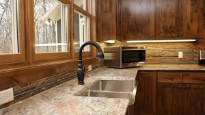 granite countertop melamine kitchen cabinet bronze backsplash