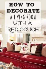 living room red couch how to decorate a living room with a red couch coupon karma