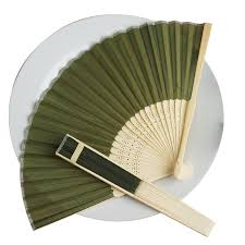folding fans wholesale silk folding wedding party favor fans table top