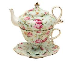 Kitchen Collection Free Shipping Gracie China By Coastline Imports 4 Piece Porcelain Tea For One