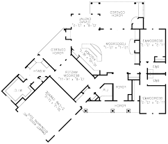fine modern house floor plans plan 4 beds 25 baths 3584 sqft