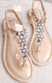 Rhinestone Flat Sandals Wedding 72 Best Ayalah U0027s Wedding Shoes Images On Pinterest Wedding Shoes