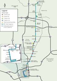 Central Ohio Map by Cmax Bus Rapid Transit U2013 Cota