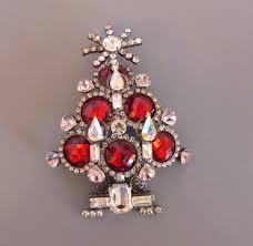 vrba tree brooch top faceted ornaments morning