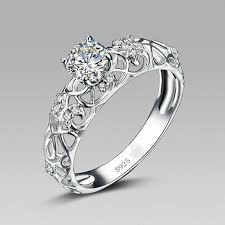 silver wedding rings how to choose silver engagement rings styleskier