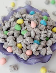 reese s easter egg puppy chow and sugar