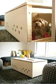 side table dog crate canada side table dog crate diy side table