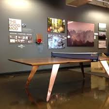 Ping Pong Conference Table Tgm Lounge For Madehere Pdx U2013 The Good Mod