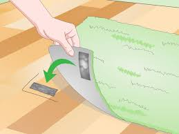 Latex Rug Gripper 3 Ways To Stop A Rug From Moving On A Wooden Floor Wikihow